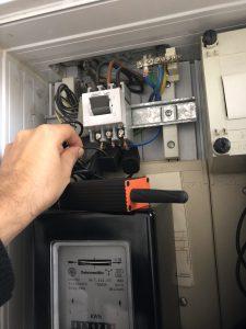 Installation 1 und 3 Phasen Strom Messung