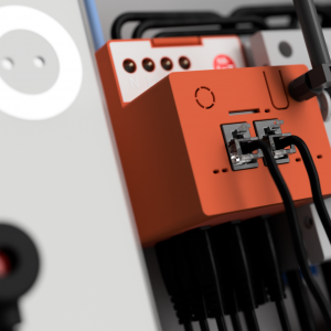 Energomaster DIN Rail Strom Zwischenzähler