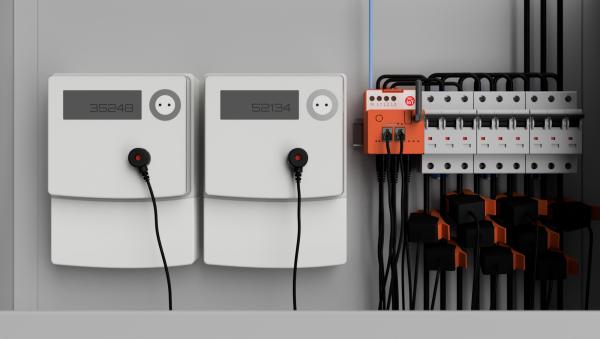 DIN Rail Hutschienen Messgerät Energomaster