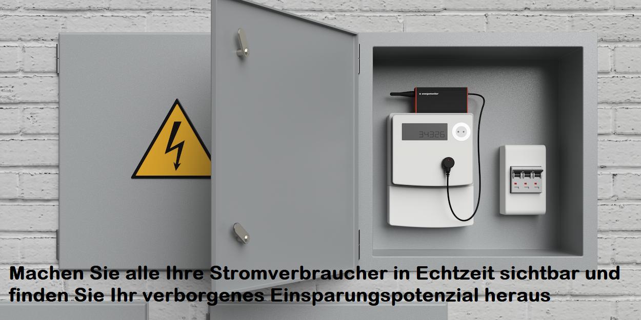Stromverbrauch am Zähler - Sicherungskasten messen